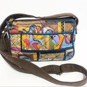 Laurel Burch Horse Handbag Cotton